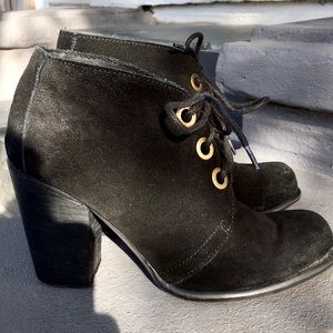 🔮 Steve Madden 🔮 Witchy Suede Heeled Booties